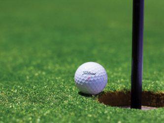 Image of Golf Golf Ball Hole Golf Course Cup Field Grass